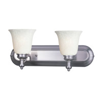 Z-Lite Hollywood 2 Light Vanity in Brushed Nickel 301-2V-BN-WM6
