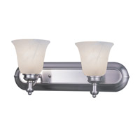 Z-Lite Hollywood 2 Light Vanity in Brushed Nickel 301-2V-BN