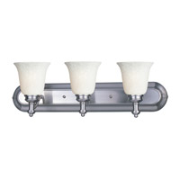 Z-Lite Hollywood 3 Light Vanity in Brushed Nickel 301-3V-BN-WM6