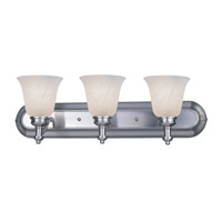 Z-Lite Hollywood 3 Light Vanity in Brushed Nickel 301-3V-BN