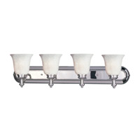 Z-Lite Hollywood 4 Light Vanity in Chrome 301-4V-CH-WM6