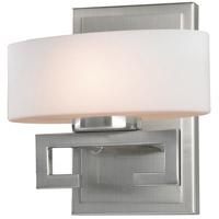 Z-Lite 3010-1V Cetynia 1 Light 8 inch Brushed Nickel Vanity Wall Light in G9
