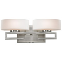 Brushed Nickel Cetynia Bathroom Vanity Lights