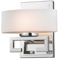 Cetynia 1 Light 8 inch Chrome Vanity Wall Light