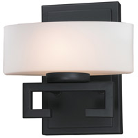 Cetynia 1 Light 8 inch Bronze Vanity Wall Light in G9