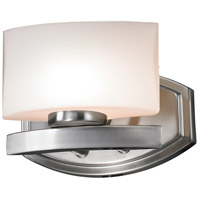 Galati LED 8 inch Brushed Nickel Vanity Light Wall Light in 1