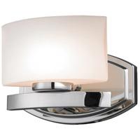 Z-Lite 3014-1V Galati 1 Light 8 inch Chrome Vanity Wall Light in G9