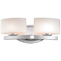 Z-Lite 3014-2V Galati 2 Light 16 inch Chrome Vanity Wall Light in G9