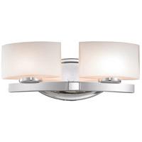 Z-Lite 3014-2V Galati 2 Light 16 inch Chrome Vanity Wall Light in G9