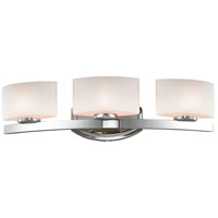 Z-Lite 3014-3V-LED Galati LED 23 inch Chrome Vanity Wall Light