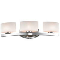 Z-Lite 3014-3V Galati 3 Light 23 inch Chrome Vanity Light Wall Light in G9