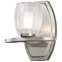 Haan 1 Light 7 inch Brushed Nickel Vanity Wall Light