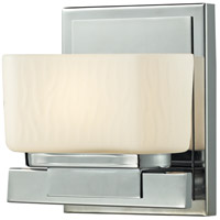 Gaia 1 Light 6 inch Chrome Vanity Light Wall Light in G9
