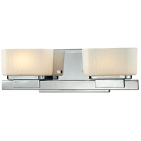 Gaia 2 Light 15 inch Chrome Vanity Light Wall Light in G9
