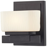 Gaia LED 6 inch Bronze Vanity Light Wall Light in 1