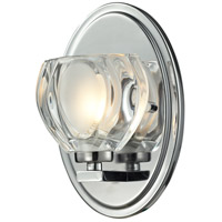 Hale LED 5 inch Chrome Vanity Light Wall Light in 1