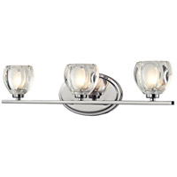 Hale LED 21 inch Chrome Vanity Light Wall Light in 3