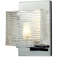 Z-Lite 3025-1V Jaol 1 Light 5 inch Chrome Vanity Wall Light in G9