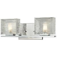Z-Lite Jaol 2 Light Vanity in Chrome 3025-2V