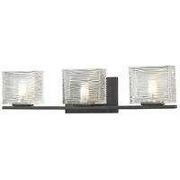 Z-Lite Jaol 3 Light Vanity in Bronze 3026-3V