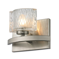 Rai 1 Light 7 inch Brushed Nickel Vanity Wall Light