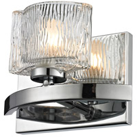Rai LED 7 inch Chrome Vanity Light Wall Light in 1