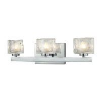 Rai 3 Light 20 inch Chrome Vanity Light Wall Light in G9