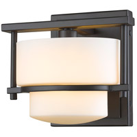Z-Lite Porter 1 Light Wall Sconce in Bronze 3030-1S-BRZ