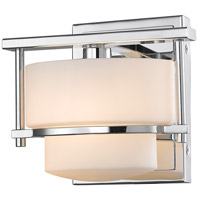 Z-Lite Porter 1 Light Wall Sconce in Chrome 3030-1S-CH