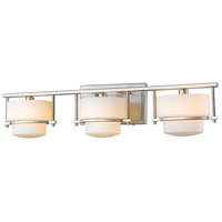 Z-Lite 3030-3V-BN-LED Porter LED 25 inch Brushed Nickel Vanity Wall Light in 3