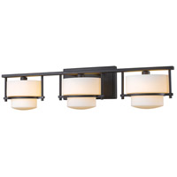 Z-Lite 3030-3V-BRZ Porter 3 Light 25 inch Bronze Vanity Wall Light in G9