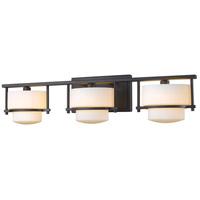 Z-Lite 3030-3V-BRZ Porter 3 Light 25 inch Bronze Vanity Wall Light in G9