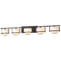 Z-Lite 3030-5V-BRZ-LED Porter LED 43 inch Bronze Vanity Wall Light in 5