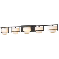 Z-Lite 3030-5V-BRZ Porter 5 Light 43 inch Bronze Vanity Wall Light in G9