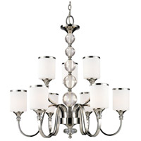 Z-Lite 307-9-CH Cosmopolitan 9 Light 31 inch Chrome Chandelier Ceiling Light