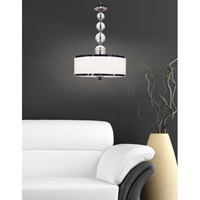 Z-Lite Cosmopolitan 3 Light Pendant in Chrome 307P-CH alternative photo thumbnail