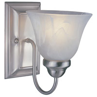 Z-Lite Lexington 1 Light Wall Sconce in Brushed Nickel 311-1S-BN