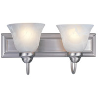 Z-Lite 311-2V-BN Lexington 2 Light 18 inch Brushed Nickel Vanity Light Wall Light