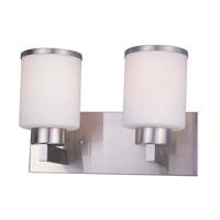 Z-Lite Cosmopolitan 2 Light Vanity in Brushed Nickel 312-2V-BN photo thumbnail