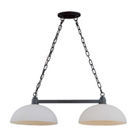 Z-Lite Chelsey 2 Light Island/Billiard in Dark Bronze 314-2-BRZ