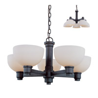 Chelsey 5 Light 26 inch Dark Bronze Chandelier Ceiling Light
