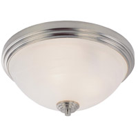 Z-Lite Chelsey 3 Light Flush Mount in Brushed Nickel 314F3-BN