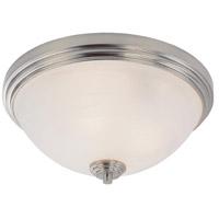 Z-Lite 314F3-BN Chelsey 3 Light 14 inch Brushed Nickel Flush Mount Ceiling Light