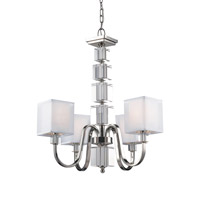 Z-Lite Drake 4 Light Chandelier in Chrome 315-4