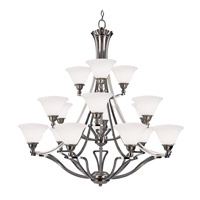 Z-Lite Carlisle 18 Light Chandelier in Brushed Nickel 316-18