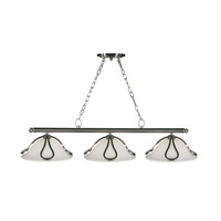 Z-Lite Carlisle 3 Light Island/Billiard in Brushed Nickel 316-3B