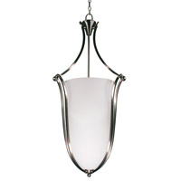 Z-Lite Carlisle 6 Light Foyer Pendant in Brushed Nickel 316P-43