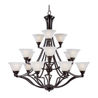 Z-Lite Carlisle 18 Light Chandelier in Bronze 317-18