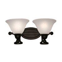 Z-Lite Carlisle 2 Light Wall Sconce in Bronze 317-2V