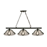 Z-Lite Carlisle 3 Light Island/Billiard in Bronze 317-3B